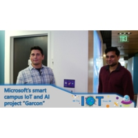 """Logo du podcast Microsoft's Smart Campus IoT and AI project """"Garcon""""   Internet of Things Show"""