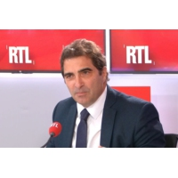 "Logo du podcast Grand débat national : il ""tourne à la caricature"", estime Christian Jacob sur RTL"