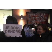 Logo of the podcast Pourquoi avoir organisé une manifestation de soutien aux mineurs migrants?