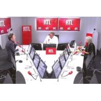 """Logo du podcast Marion Maréchal, Bernard Cazeneuve et Arnaud Montebourg """"ont un espace politique"""""""