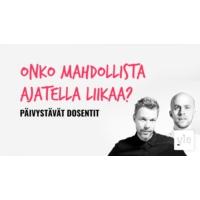 Logo of the podcast Onko mahdollista ajatella liikaa?