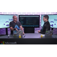 Logo of the podcast CosmosDB: Serverless NoSQL for the .NET Developer | Visual Studio Toolbox