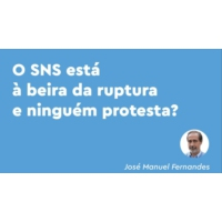 Logo of the podcast SNS: as listas de espera e as clientelas sindicais