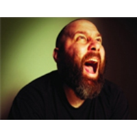 Logo of the podcast Hip-hop artist Sage Francis, Wanning Sun and Curt Rogers.