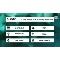 Logo of the podcast Quinté + : la dernière minute du Prix Eukrate