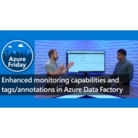 Logo of the podcast Enhanced monitoring capabilities and tags/annotations in Azure Data Factory | Azure Friday