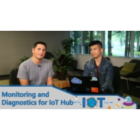Logo of the podcast Monitoring And Diagnostics of an IoT Solution with Azure IoT Hub | Internet of Things Show