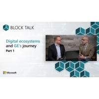 Logo of the podcast Digital ecosystems and GE's journey - Part 1 | Block Talk