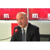Logo du podcast Déficit, ISF : Pierre Moscovici était l'invité de RTL