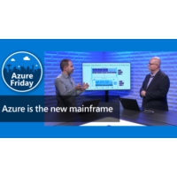 Logo of the podcast Azure is the new mainframe | Azure Friday