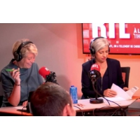 """Logo of the podcast Valérie Trierweiler: """"J'en ai assez que l'on me parle du passé"""""""