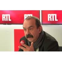 Logo of the podcast Philippe Martinez était l'invité de RTL