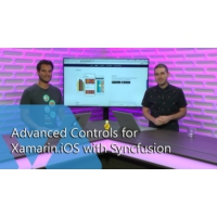 Logo of the podcast Advanced Controls for Xamarin.iOS with Syncfusion | The Xamarin Show
