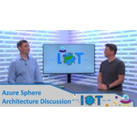 Logo of the podcast Azure Sphere Architecture Discussion | Internet of Things Show