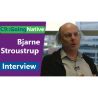 Logo of the podcast Bjarne Stroustrup Interview at CppCon 2018 | C9::GoingNative