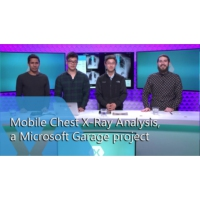 Logo of the podcast Mobile Chest X-Ray Analysis, a Microsoft Garage Project | The Xamarin Show