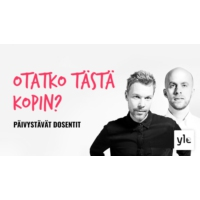 Logo of the podcast Otatko tästä kopin?