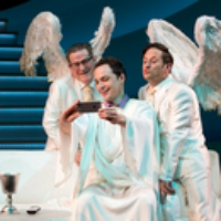 Logo of the podcast Sideshow Podcast: How God Turned His Twitter Account into a Broadway Show