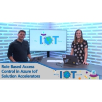 Logo of the podcast Role Based Access Control in Azure IoT solution accelerators | Internet of Things Show