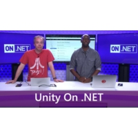 Logo of the podcast Building games with Unity and Azure | On .NET