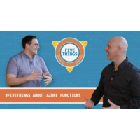 Logo of the podcast Five Things About Azure Functions | Five Things