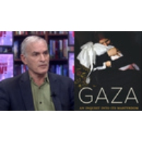 """Logo of the podcast Norman Finkelstein: The """"Big Lie"""" About Gaza is That the Palestinians Have Been the Aggressors"""