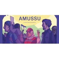 "Logo of the podcast ""Amassu"", la digne lutte des habitants d'Imider."