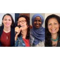 Logo of the podcast Democracy Now! 2018-11-07 miércoles