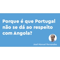 Logo of the podcast Angola está a fazer chantagem com Portugal