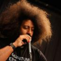 Logo of the podcast Bandleader, Comedian, and Beatboxer Reggie Watts (From the Archives)