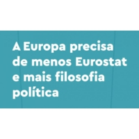 Logo of the podcast Menos Eurostat e mais filosofia política