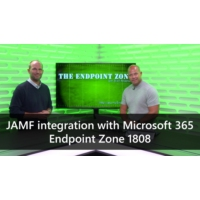 Logo of the podcast JAMF integration with Microsoft 365 - Endpoint Zone 1808 | The Endpoint Zone with Brad Anderson