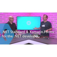 Logo of the podcast .NET Standard and Xamarin.Forms for the .NET Developer | The Xamarin Show