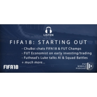 Logo du podcast FIFA18: How to start FUT18, ChuBoi & Futhead chat