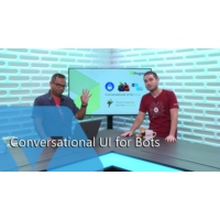 Logo of the podcast Conversational UI for Bots | The Xamarin Show