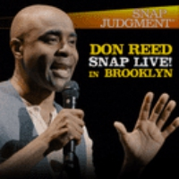 """Logo du podcast Don Reed """"Cardboard Boxes"""" at Snap LIVE! in Brooklyn"""