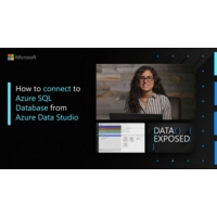 Logo of the podcast How to connect to Azure SQL Database from Azure Data Studio | Data Exposed