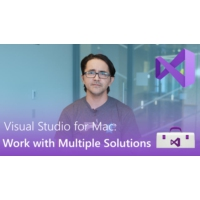 Logo of the podcast Visual Studio for Mac: Work With Multiple Solutions | Visual Studio Toolbox