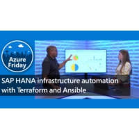 Logo of the podcast SAP HANA infrastructure automation with Terraform and Ansible | Azure Friday