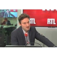 """Logo of the podcast """"Le gouvernement sera jugé sur le pouvoir d'achat"""", selon Olivier Bost"""