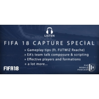 Logo of the podcast FIFA18: Gameplay tips, composure & more revelations