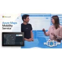 Logo of the podcast Azure Maps Mobility Services | Internet of Things Show