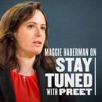 Logo of the podcast Journalism in the Age of Trump (with Maggie Haberman)