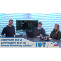 Logo of the podcast Deployment and UI customization of an IoT Remote Monitoring solution | Internet of Things Show