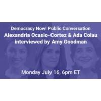 Logo of the podcast WATCH: Alexandria Ocasio-Cortez & Ada Colau Interviewed by Amy Goodman