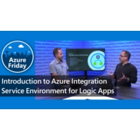Logo of the podcast Introduction to Azure Integration Service Environment for Logic Apps | Azure Friday