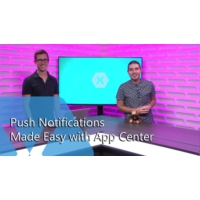Logo of the podcast Push Notifications Made Easy with App Center | The Xamarin Show