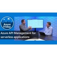 Logo du podcast Azure API Management for serverless applications   Azure Friday