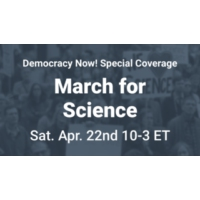 Logo of the podcast WATCH: Democracy Now! Special Broadcast from the March for Science