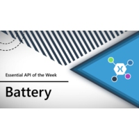Logo of the podcast Battery (Xamarin.Essentials API of the Week) | The Xamarin Show